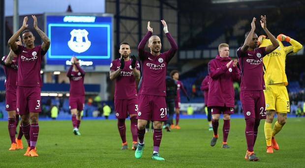 Manchester City are on the brink of title glory after victory at Everton