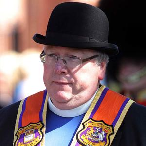 Mervyn Gibson of the Orange Order