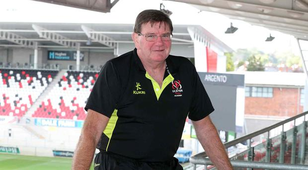Proud: Ulster 'A' assistant coach Willie Anderson