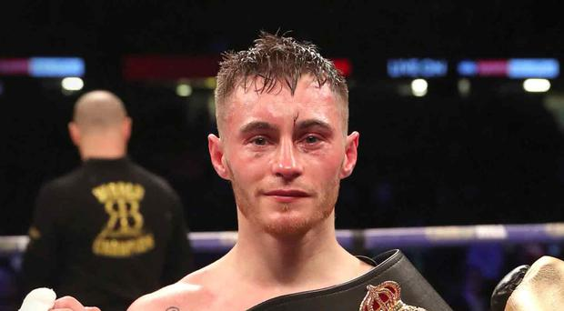 Doors opening: Ryan Burnett is close to a World title unification showdown