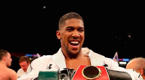 Challenge: Anthony Joshua