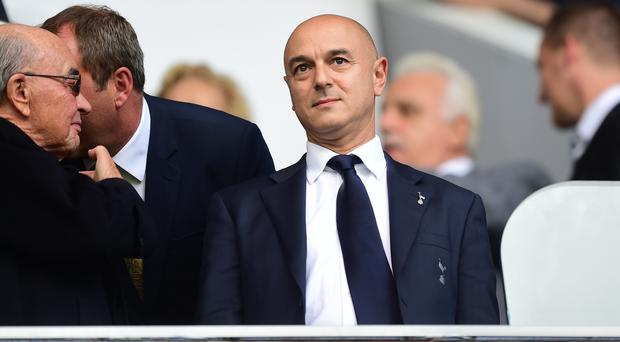 Daniel Levy's Tottenham have reported record revenue for 2016-17