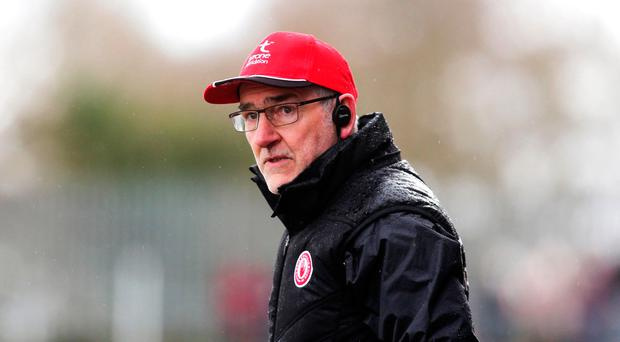 Hard work: Mickey Harte says Tyrone still work in progress