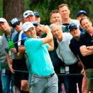 Looking up: Jordan Spieth is starting to get out of his rut