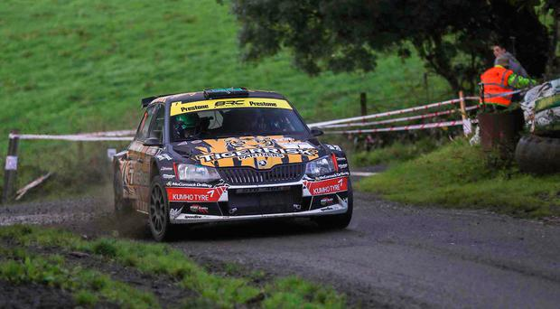 Revved up: Marty McCormack eyes victory but won't register for points in Irish title race