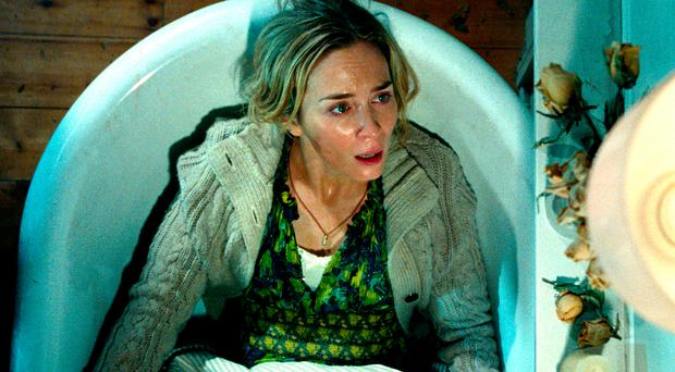 Noise pollution: Emily Blunt as Evelyn Abbott in A Quiet Place