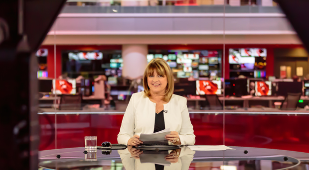 Former BBC News anchor Maxine Mawhinney