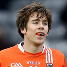 Hot stuff: Armagh's Andrew Murnin has soared to the top