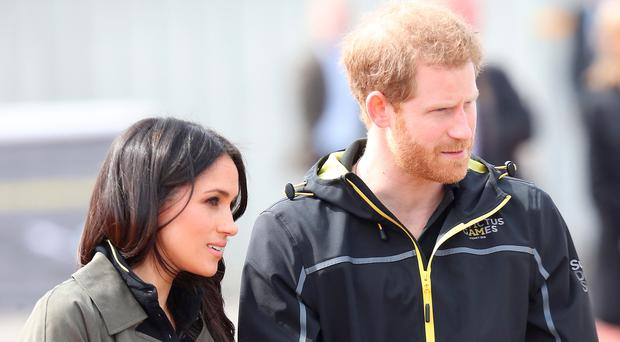 Prince Harry and Meghan Markle meet Invictus Games…