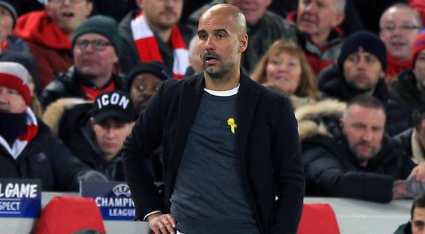 Guardiola fears Manchester City could lose title