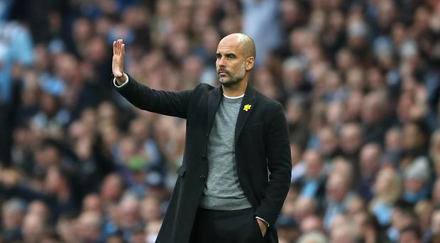 Pep Guardiola saw Manchester City beaten on Saturday