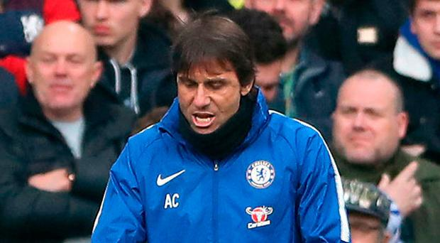 Frustrated figure: Antonio Conte has seen it all before