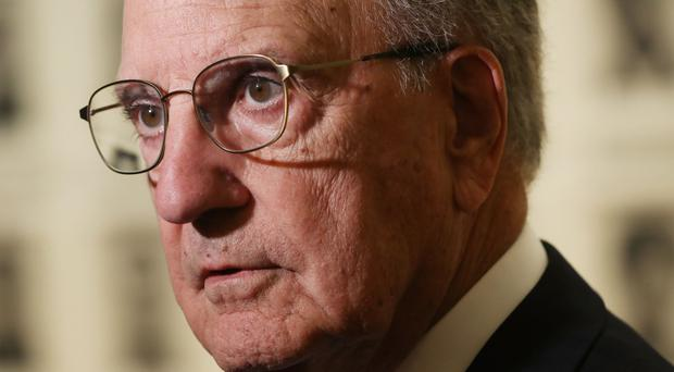 Former US peace envoy to Northern Ireland George Mitchell has said lack of violence must not be taken for granted in Northern Ireland (Niall Carson/PA)