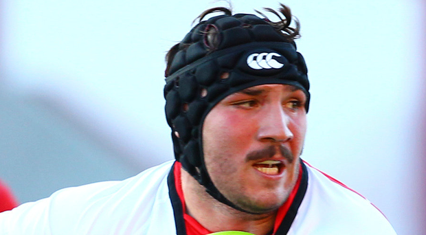Fresh face: Tom O'Toole had an encouraging first appearance in Ulster's win over Edinburgh