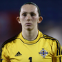 Safe hands: Emma Higgins may be called upon to shine