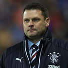 In air: Graeme Murty is unsure whether he'll remain at Ibrox