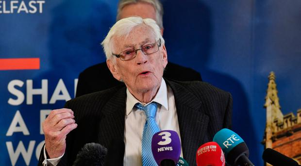 Former NI deputy First Minister Seamus Mallon. (Photo by Charles McQuillan/Getty Images)