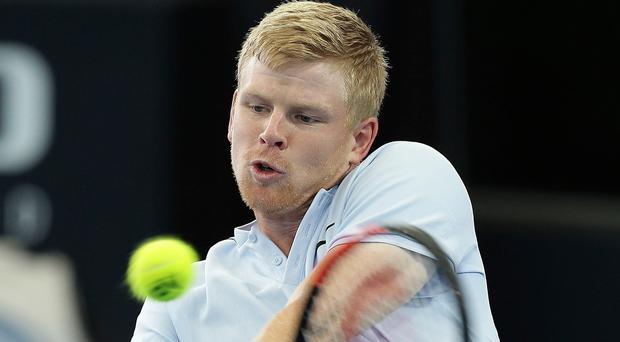 Marching on: Kyle Edmund is making progress in Marrakech