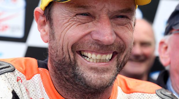 Top racer: Bruce Anstey is fighting health issues