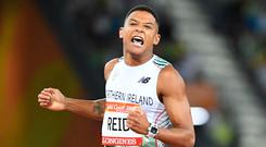 Glory day: Leon Reid powers into Commonwealth Games 200m final