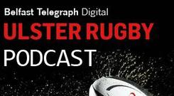 Ulster Rugby Podcast Logo