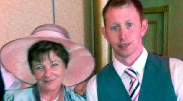 Kathleen McBrearty and her late son Darren