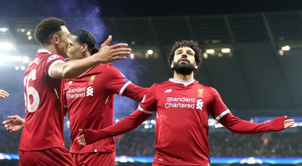 Manchester City v Liverpool – UEFA Champions League – Quarter Final – Second Leg – Etihad Stadium