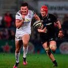 Clincher: Jacob Stockdale runs in crucial last gasp Ulster try