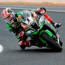 On track: Jonathan Rea is well placed ahead of this weekend's World Superbike races