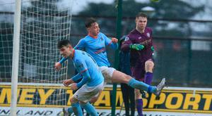 Kicking on: Chris Johns is hungry to maintain Coleraine's push for the Gibson Cup