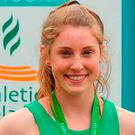 What a feat: Kate O'Connor finished in eighth place