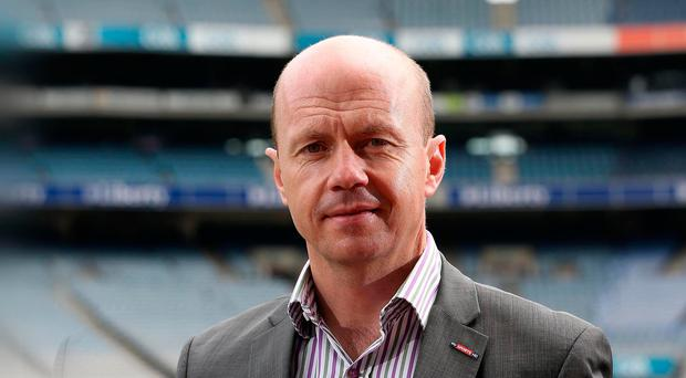 On ball: Peter Canavan is now a highly respected Sky Sports pundit