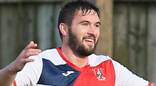 Goal scorer: Michael McLellan netted for Ards