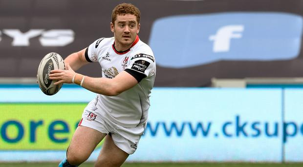 Paddy Jackson playing for Ulster