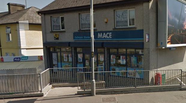 The Mace store on Derry's Culmore Road was robbed on Saturday night.