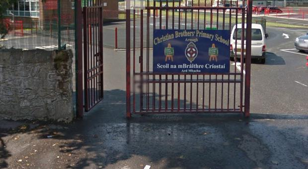 Christian Brothers Primary School in Armagh issued the warning to parents. Credit: Google