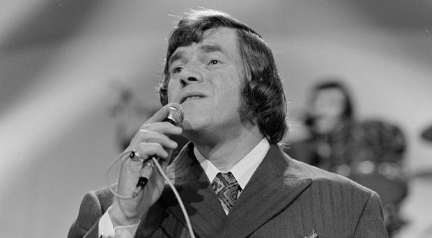 True talent: Big Tom performs on stage in Dublin's Cabra Grand in 1974