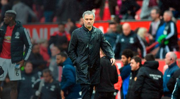 Staying focused: Jose Mourinho won't allow Manchester United to drop off in the final weeks of the season