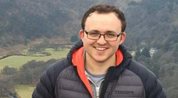 Christopher Mackin died following a road collision in London.