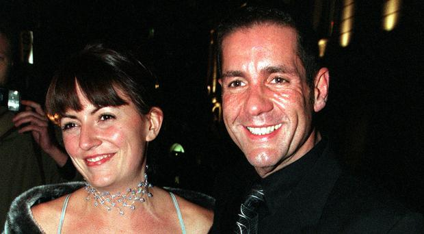 Dale Winton and Davina McCall (Toby Melville/PA)