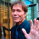 Sir Cliff Richard arrives at the Rolls Building in London