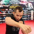 Happy again: Nonito Donaire has patched up family relations that were strained following his marriage to Rachel