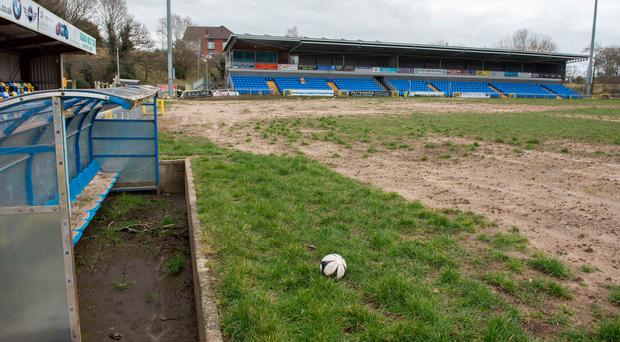 Ground down: Premiership football is unlikely to return to Drumahoe