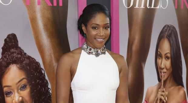 Girls Trip star says she will wear McQueen dress 'multiple times' (Willy Sanjuan/Invision/AP)