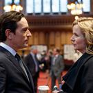Guilty fantasy: Ben Chaplin with Emily Watson in Apple Tree Yard