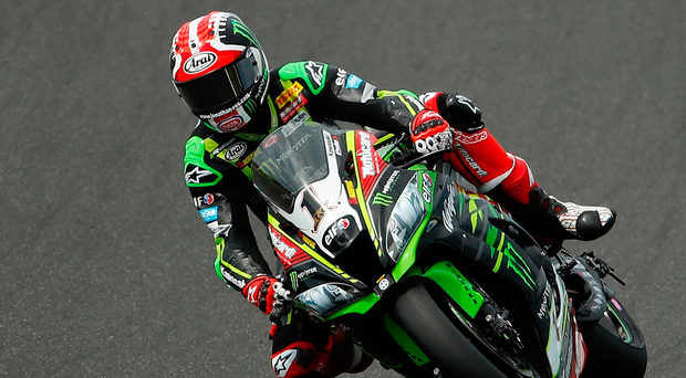 Revved up: Jonathan Rea has a proud record of 11 victories around the Assen circuit