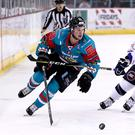 Darcy Murphy (left) will return for a second season with the Belfast Giants