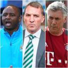 Patrick Vieira, Brendan Rodgers and Carlo Ancelotti are all among the favourites to replace Arsene Wenger.