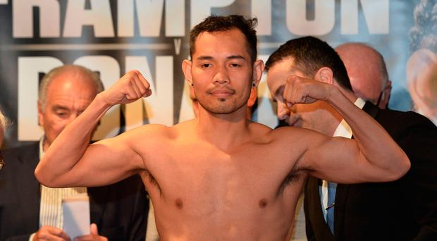 Wise head: Nonito Donaire is determined to prolong his boxing career by tasting victory in Belfast before going on to regain his place on the big stage