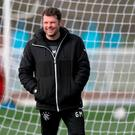 Trudging on: Graeme Murty is aiming to remain upbeat